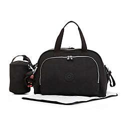 Kipling Camama Over-the-Shoulder Bag with Bottle Holder in Black
