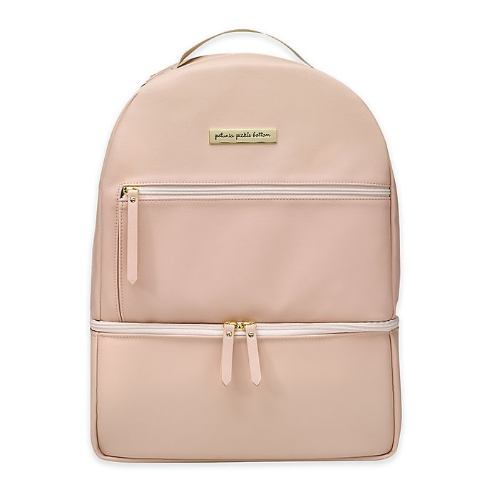 Alternate image 1 for Petunia Pickle Bottom® Axis Backpack Diaper Bag in Blush