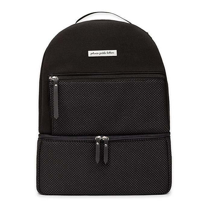 Alternate image 1 for Petunia Pickle Bottom® Axis Backpack Diaper Bag in Black
