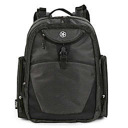 Jeep® Adventurers Diaper Backpack in Black