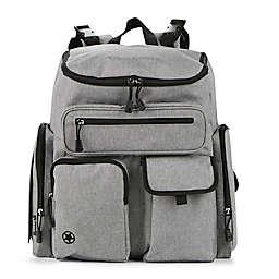 Jeep® Adventurers Diaper Backpack in Grey