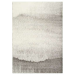Novelle Home Sandy Banks Rug in Grey