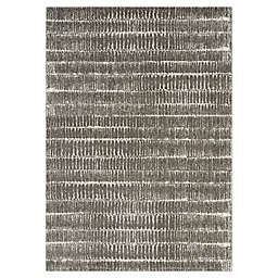 "Novelle Home Lines 5'3"" X 7'7"" Area Rug in Grey"