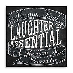 Laughter Is Essential Wall Art