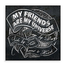 My Friends Are My Universe Wall Art