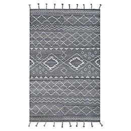 Couristan® Lima Inca Rug in Dark Grey
