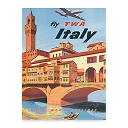 Fly Italy Wall Art