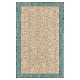 Destination Summer Miami Border Area Woven Rug