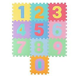 Hey! Play! Foam Floor Number Play Mat