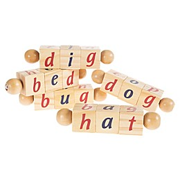 Hey! Play! 5-Count Twist Letter Blocks