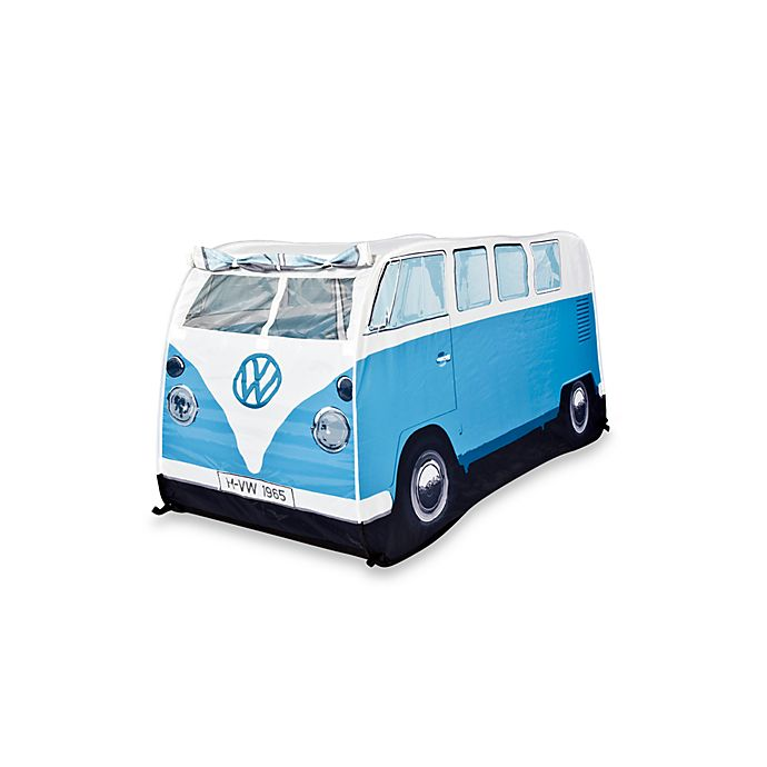 Alternate image 1 for VW Campervan Children's Pop-Up Play Tent in Blue