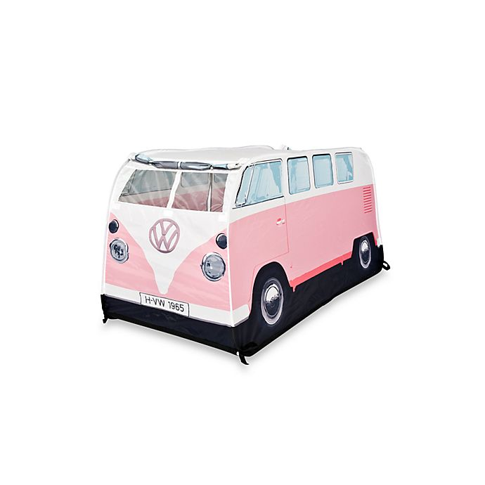 Alternate image 1 for VW Camper Van Play Tent in Pink