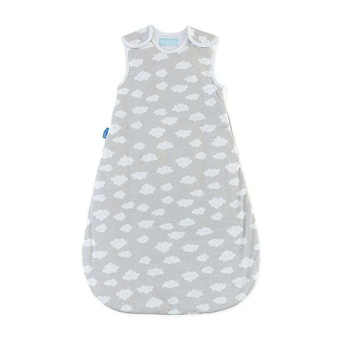 Alternate image 1 for Tommee Tippee® Size 0-6M Grobag Fluffy Cloud Sleepbag in Grey