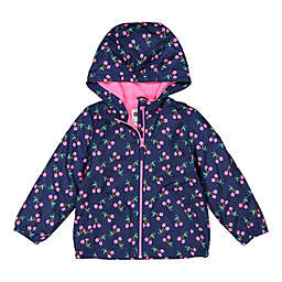 OshKosh B'gosh® Cherry Hooded Jacket in Navy