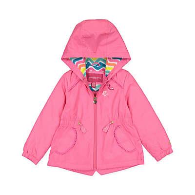 London Fog® Chevron Jacket in Pink