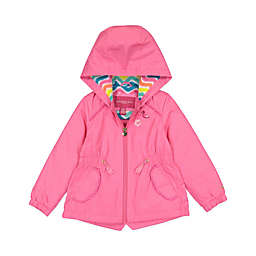 London Fog® Chevron Jacket in Pink