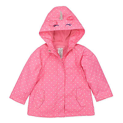 carter's® Unicorn Jacket in Pink Dot