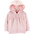 carter's® Size 6M Ruffled Cardigan in Pink