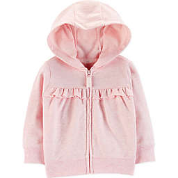 carter's® Ruffled Cardigan in Pink