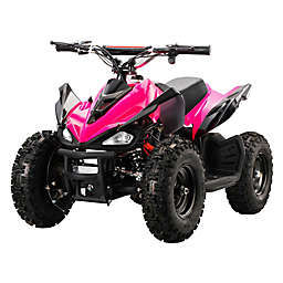 MotoTec 24-Volt Mini Quad V2 Battery-Powered Ride-On
