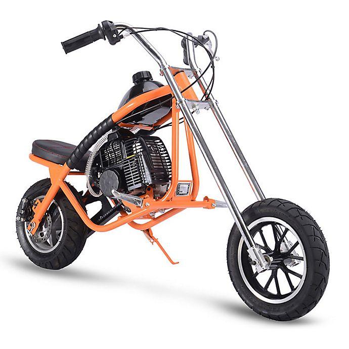 Alternate image 1 for MotoTec 49cc 2-Stroke Gas-Powered Mini Chopper