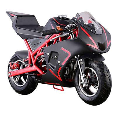 MotoTec Cali 40cc 2-Stroke Gas-Powered Pocket Bike