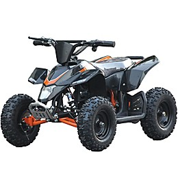 MotoTec 24-Volt Mini Quad V3 Battery-Powered Ride-On
