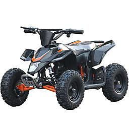MotoTec 24-Volt Mini Quad V3 Battery-Powered Ride-On