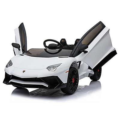 Mini Moto 12-Volt Lamborghini Electric Ride-On