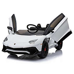 Mini Moto 12-Volt Lamborghini Electric Ride-On