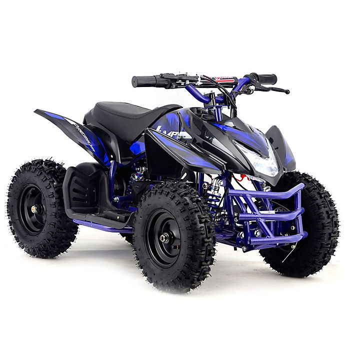 Alternate image 1 for MotoTec 24-Volt Mini Quad Titan V5 Battery-Powered Ride-On