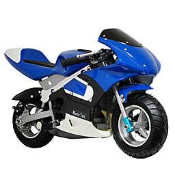 MotoTec 33cc 2-Stroke Gas-Powered Pocket Bike