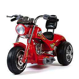 Mini Moto 12-Volt Red Hawk Electric Motorcycle Ride-On