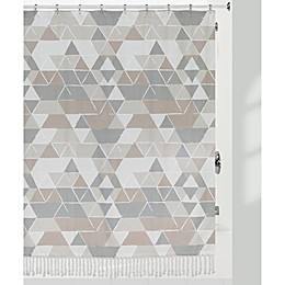 Creative Bath™ Triangles Shower Curtain in Natural