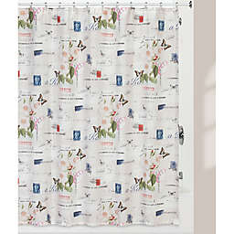 Creative Bathtrade Botanical Diary Shower Curtain