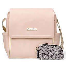 Petunia Pickle Bottom® Boxy Backpack Diaper Bag in Blush Leatherette