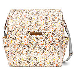 Petunia Pickle Bottom® Boxy Backpack Diaper Bag in Grey Matte Leatherette