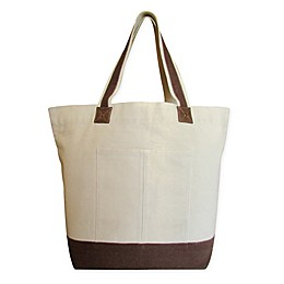 Pebbles Large Canvas Tote Bag