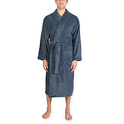 Majestic International Plush Fleece Shawl Robe