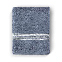 Casual Avenue Fibrotint Bath Towel in Denim