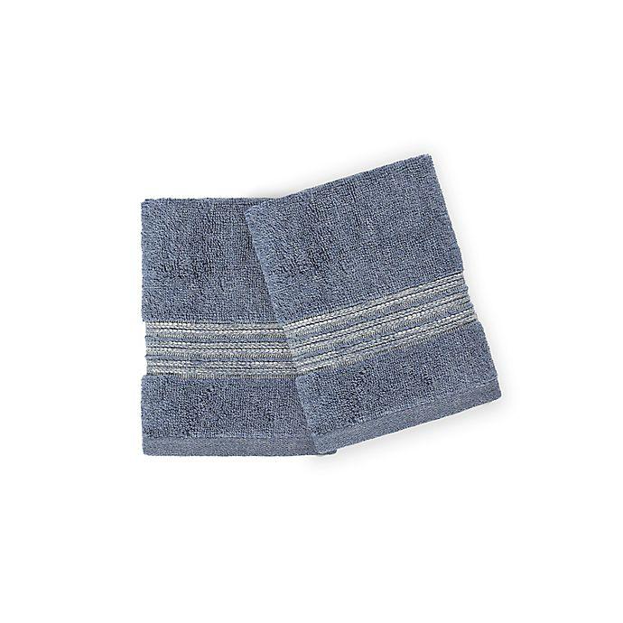 Alternate image 1 for Casual Avenue Fibrotint Wash Cloths (Set of 2)