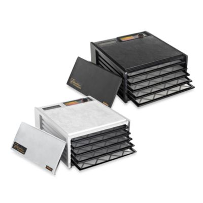 Excalibur® 5 Tray Dehydrator In Black by Bed Bath And Beyond