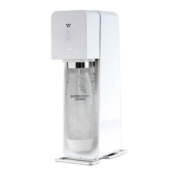 Alternate image 1 for SodaStream® SOURCE™ Sparkling Water Maker Starter Kit in White