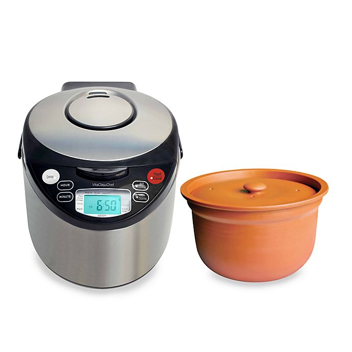 Alternate image 1 for VitaClay® Smart Organic Multicooker
