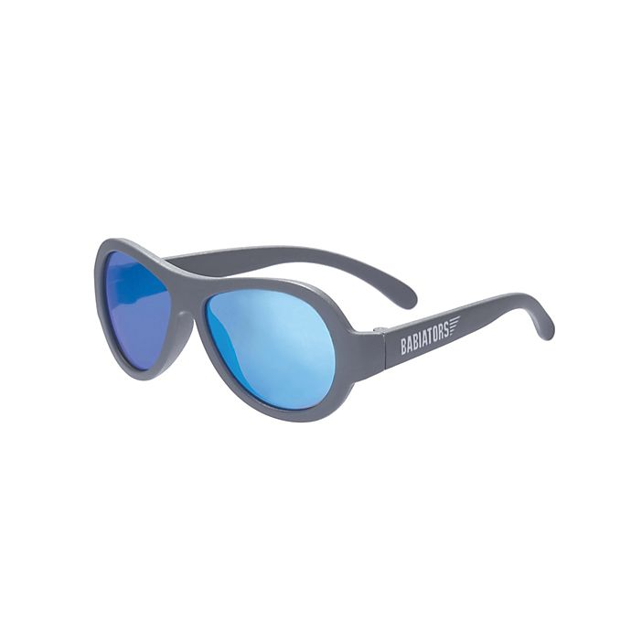 Alternate image 1 for Babiators® Classic Aviator Sunglasses in Blue Steel