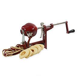 Amerihome Hand Crank Apple Peeler in Red