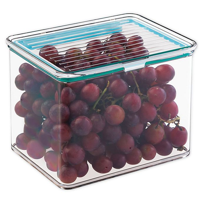 Alternate image 1 for iDesign® Kitchen Binz 2-Quart Box with Lid