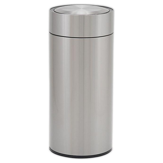 Alternate image 1 for Design Trend®  Round Sensor Trash Can with Liner  8 Gallon - 30 liter
