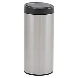 Household Essentials® 30-Liter Round Stainless Steel Sensor Trash Can