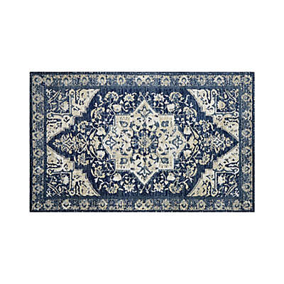 Bee & Willow™ Home Hudson 2'3 x 3'9 Accent Rug in Navy